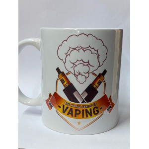 Coffee Mugs Vape Custom Logo - Various Prints