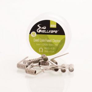 Hellvape Ni80 Quad Core Fused Clapton Coils