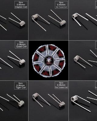 Demon Killer 8-in-1 Alien Wire Coil Kit