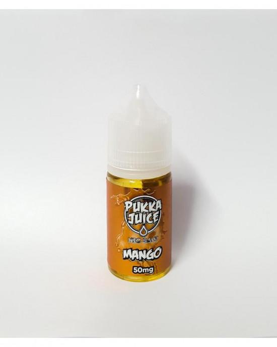 Pukka Juice - Mango Nic Salt 30ml