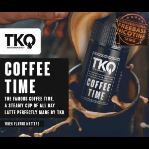 TKO - Coffee Time Freebase MTL 12mg