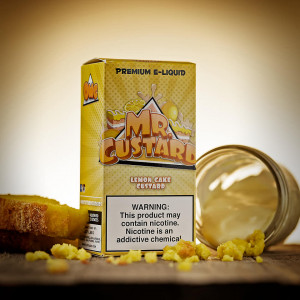 Mr.Freeze E-Liquids - Lemon Cake Custard 100ml