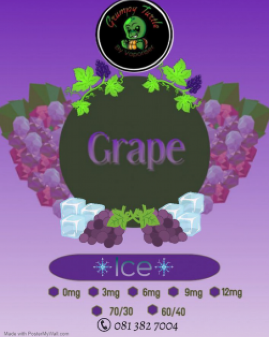 Grumpy Turtle Diy  -  Grape Ice