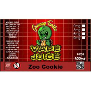 Grumpy Turtle Diy - Zoo Cookie